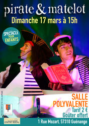 16/03/2019 - Spectacle : Pirates  & Matelots