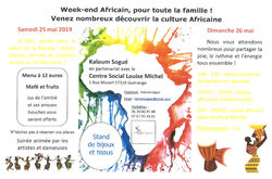 23/05/2019 - Week end culture africaine
